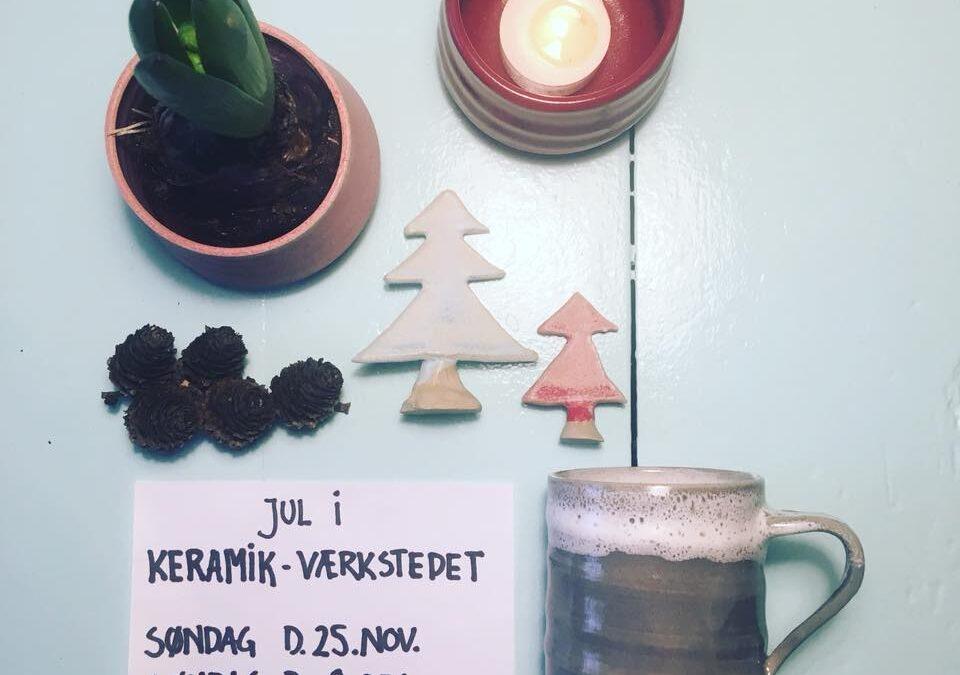 Jul i Keramikværkstedet